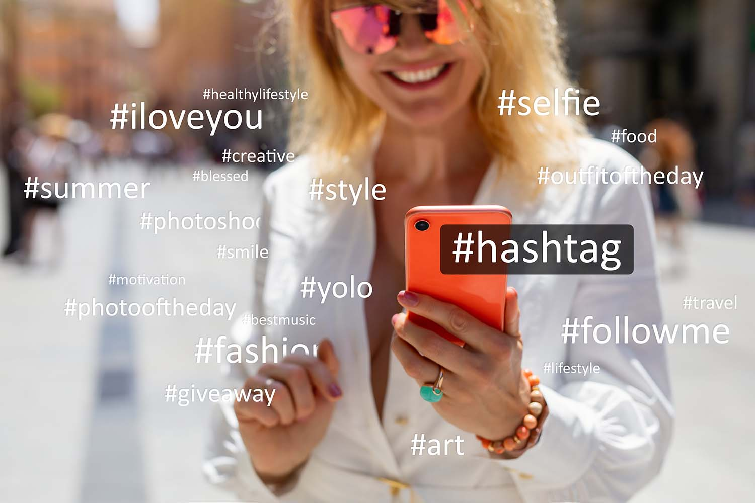 Instagram: Hashtags can increase your reach