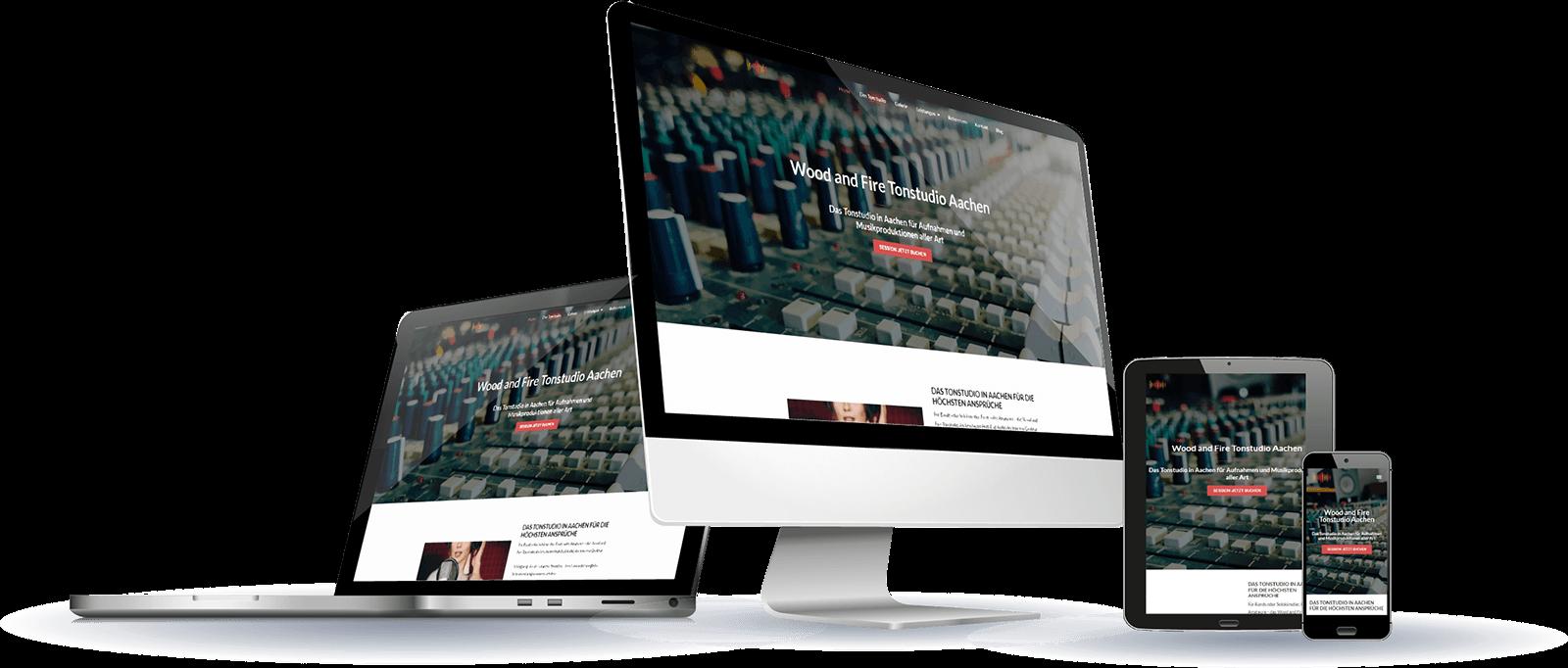Responsive Homepage erstellen lassen!